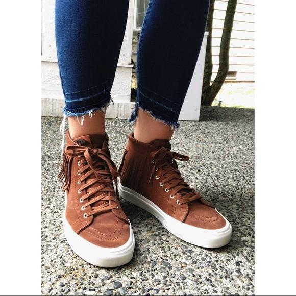 7ae78eb92a Vans Sk8-Hi Moc Skate Shoes (Suede). M 5b8b323d5098a0d5ca16b50b